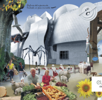 """Ganadora de la campaña de Turismo """"Euskadi"""" 2009. Um projeto de Design gráfico de Oihana Barbero Moral - 19-10-2009"""