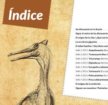 Un dinosaurio en tu buzón. Um projeto de Design editorial de Germán Gómez Arranz - 31-03-2015