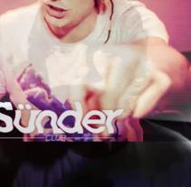 Postproducción en el vídeo promocional del festival Sünder Club de Santander. Um projeto de Pós-produção de Aleix Asla Prunera         - 06.12.2013