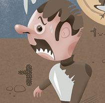 Tempus Fugit. Um projeto de Ilustração de pardo         - 24.10.2015