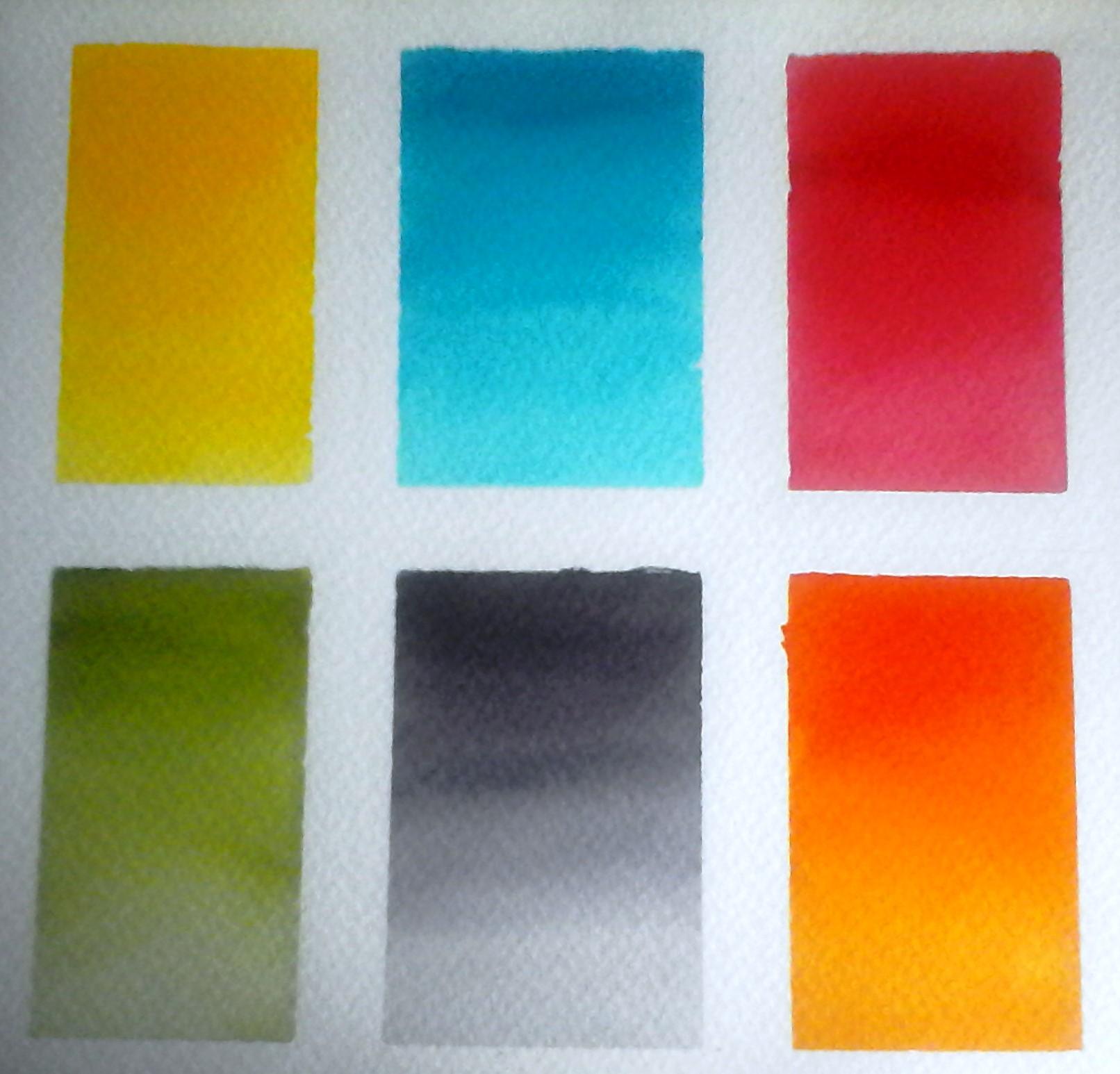 Degradacion de colores en ecolin domestika for De colores de colores