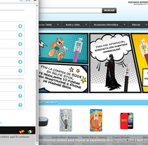 digitalome.com responsive. A Web Design project by Gema R. Yanguas Almazán         - 14.05.2015