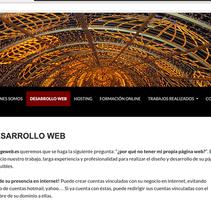 Ingeweb.es. Um projeto de Desenvolvimento de software, Web design e Desenvolvimento Web de Gema R. Yanguas Almazán         - 14.02.2007