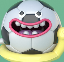baloncito. A 3D, Character Design, and Graphic Design project by victor miguel peñas cogolludo - 26-10-2015