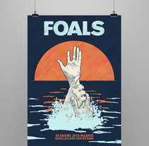 FOALS What Went Down. Mi Proyecto del curso Ilustración para music lovers. A Graphic Design project by Noir Design         - 29.10.2015