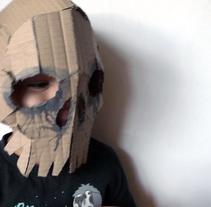 Mascaras de cartón. Um projeto de Design de Elvira Rojas         - 29.10.2015