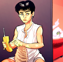 GHOST y la monotonía en pareja. A Illustration, Graphic Design, Comic, and Film project by Ibon Sánchez Rodriguez - 29-10-2015