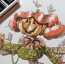 Otoño. Un proyecto de Ilustración de Elisabeth Castro Martínez - 31-10-2015