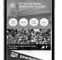 The Style Outlets app. Um projeto de UI / UX e Design de produtos de Olga Constanza         - 30.06.2015
