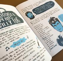 Nellie Bly. Un proyecto de Ilustración, Diseño gráfico y Caligrafía de Mentecalamar Studio  - 09-07-2015