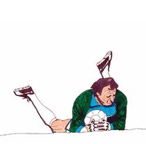 Fútbol para ilustrados. Un proyecto de Ilustración de Ralf Wandschneider - Jueves, 12 de noviembre de 2015 00:00:00 +0100