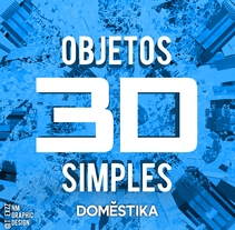Diseños 3D (Simples). A Design, 3D, and Graphic Design project by Nickolas Machado         - 12.11.2015