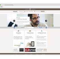 Web Fundación Elhuyar. A UI / UX, Web Design, and Web Development project by Asier Pérez Subijana         - 28.02.2015