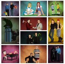 FRIENDSHIP GOALS. Um projeto de Ilustração, Design de personagens e Design gráfico de Ernesto Cifuentes C         - 12.11.2015