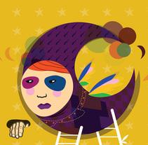 """Serie """"Lunática"""". Um projeto de Ilustração de Chuy Velez - 20-11-2015"""