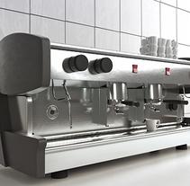 Cafetera con Vray. Um projeto de 3D de RUBEN VIVO ROMAN         - 20.11.2015