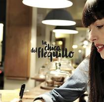 La Chica del Flequillo. Um projeto de Web design e Desenvolvimento Web de Richard Casares         - 24.11.2015