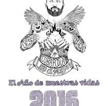 Portada calendario 2016 para el dios de los tres. A Illustration project by Javier Navarro Romero         - 29.11.2015