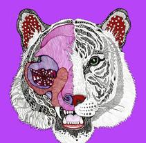 tigre el dios de los tres. A Illustration project by Javier Navarro Romero         - 29.11.2015