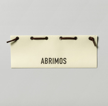 Abrimos. A Design, and Graphic Design project by Bruno Baeza         - 25.11.2015