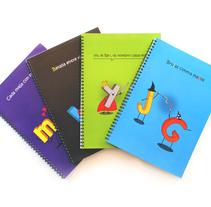 Libretas Didácticas Bililico. Um projeto de Ilustração, Design gráfico e Design de produtos de Paula Vidal Tamarit         - 19.06.2014