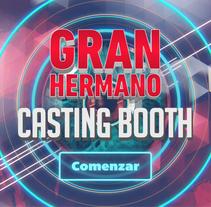 Gran Hermano Casting Booth. Un proyecto de UI / UX, Diseño gráfico y Diseño interactivo de Angeles Koiman         - 08.12.2015