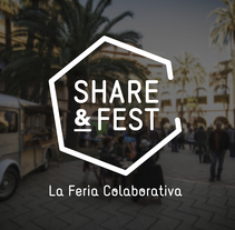 Share&Fest. A Br, ing, Identit, and Graphic Design project by Anna Carbonell Sariola         - 09.12.2015