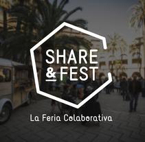 Share&Fest. Um projeto de Br, ing e Identidade e Design gráfico de Anna Carbonell Sariola - 09-12-2015