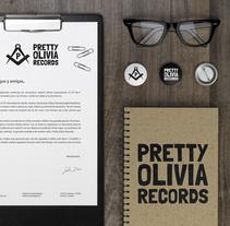 Pretty Olivia Records. Un proyecto de Diseño gráfico de Ana Pérez Sempere         - 10.12.2015