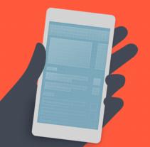 Diseñando apps para móviles. A Design, Editorial Design, Interactive Design, Education, and UI / UX project by Javier 'Simón' Cuello - Dec 28 2015 12:00 AM
