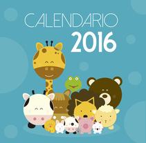 Ilustrando el tiempo: Calendario 2016. Un proyecto de Diseño e Ilustración de Francy Sánchez - 05-01-2016