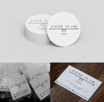 Diseño de Logotipo y Papelería - Sister in Law accesorios. Un proyecto de Diseño de Julieta Almaraz         - 07.01.2016