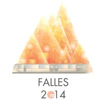 Cartel Fallas. Metrovalencia. Un proyecto de Diseño, Ilustración y Diseño gráfico de Xiana Teimoy - 15-01-2016