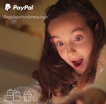 """PAYPAL """"Regala por Sorpresa"""". Un proyecto de Ilustración, Diseño gráfico y Diseño Web de Andrés Trujillo Moreno         - 17.01.2016"""