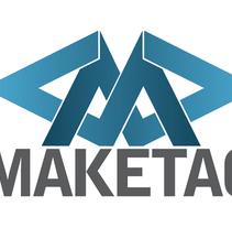 Logotipo Maketag. A Graphic Design project by José Luis Cid         - 12.01.2016