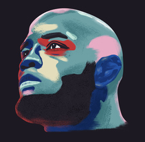 UFC Fighters. A Illustration project by David Pocull - Jan 22 2016 12:00 AM
