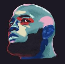 UFC Fighters. Un proyecto de Ilustración de David Pocull - Viernes, 22 de enero de 2016 00:00:00 +0100