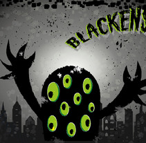 Blackenstein. A Design, Illustration, Character Design, and Graphic Design project by MujerHombreLobo         - 22.01.2016