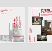 Diseño de cartelería avvento. A Design, and Editorial Design project by Laura Buri         - 24.01.2016
