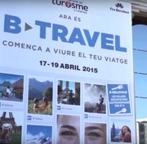 BTravel 2015 | Agència Catalana de Turisme. Um projeto de Eventos e Vídeo de Lídia Garcia Serra         - 05.05.2015