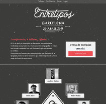 Entretipos. A Web Design, and Web Development project by Marta Armada - 01-02-2016