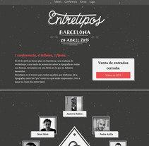 Entretipos. Un proyecto de Diseño Web y Desarrollo Web de Marta Armada - 01-02-2016