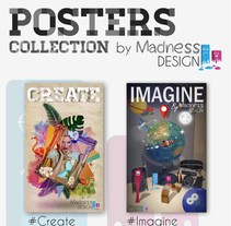 Poster Collection by Madness Design. A Design, Advertising, Br, ing, Identit, Graphic Design, and Collage project by Madness Design         - 14.12.2015