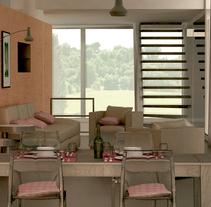Imagen 3D-render. A Design, 3D, Architecture, Design Management, Information Architecture, Interior Architecture&Interior Design project by Alessia Mancini         - 08.02.2016