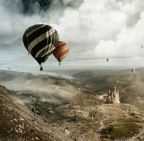 Air Ballons - Matte Painting. A Post-Production project by José Torres Escobar         - 13.02.2016
