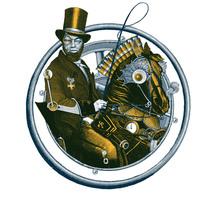 Los difuntos de Jordi Carrión. Un proyecto de Collage, Diseño editorial, Ilustración y Dirección de arte de Celsius Pictor  - Domingo, 01 de noviembre de 2015 00:00:00 +0100
