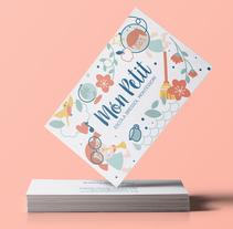 Món Petit, escola Montessori.. Un proyecto de Diseño, Ilustración, Br e ing e Identidad de Natalia Escaño - 19-02-2016