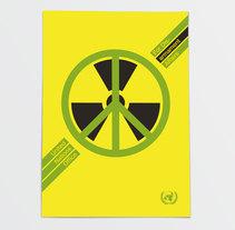 Propuesta de cartel por la Paz de las Naciones Unidas. Un proyecto de Diseño y Diseño de la información de 47 bajo cero  - 22-02-2016