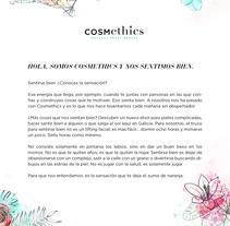 Cosmethics / Quiénes somos. Um projeto de Cop e writing de Pablo Ojea         - 02.03.2016