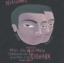 Expo Crece la hierba siempre en Rughara (Marzo 2016). Un proyecto de Cine, vídeo y televisión de Yeyei Gómez  - Domingo, 06 de marzo de 2016 00:00:00 +0100